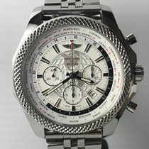 Breitling Bentley Unitime B05 White Dial Stainless Steel