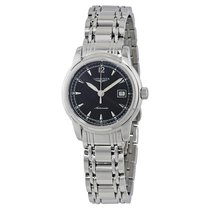 Longines Saint-Imier Black Dial Ladies Stainless Steel Watch