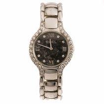 Ebel Beluga Diamond Hematite Dial Ladies Watch (Pre-Owned)