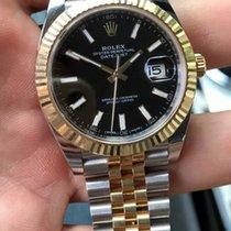 Rolex Datejust 18k Gold/Steel 41mm Jubilee 126333