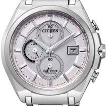 Citizen Eco-Drive Super Titanium Herren-Chronograph CA0350-51A