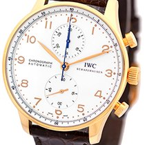 "IWC ""Portuguese"" Automatic Chronograph Strapwatch."