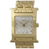 Hermès Ladies Hermes H Hour 18k Yellow Gold Quartz Watch HH1.285