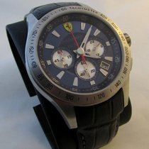 Ferrari Chronograph in mint condition, with box and papers