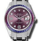Rolex Datejust Pearlmaster 39 White Gold 86349SAFUBL