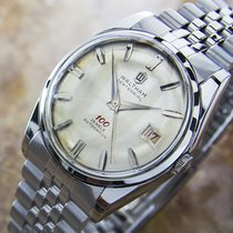 Waltham Centennial Automatic Stainless Steel Mens 1960s Dress...