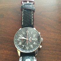 Zeno-Watch Basel XL Pilot Chrono Power Reserve