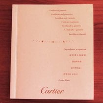 Cartier Service Booklet With Certificate