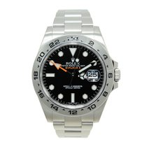 Rolex Explorer II Stainless Steel Black Automatic 216570BK