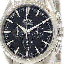 Omega Polished Omega Seamaster Aqua Terra Chronograph Automati...