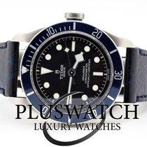 Tudor Heritage Black Bay Matt Blue Disc Leather Strap 3313