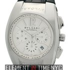 Bulgari Ergon Chronograph Stainless Steel 40mm Silver Dial...
