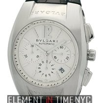 Bulgari Ergon Chronograph Stainless Steel 40mm Silver Dial