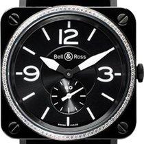 Bell & Ross Aviation BRS Black Ceramic Diamonds