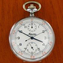 Minerva Taschenuhr - pocket Chronograph  TWs 45