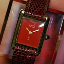 Cartier 925 Gold-plated Ladies Manual (near Mint)