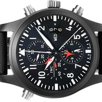 IWC - TOP GUN - Double Chronograph Rattrapante - 46 mm Zirco