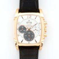 Parmigiani Fleurier Rose Gold Kalpagraph Chrono Strap Watch
