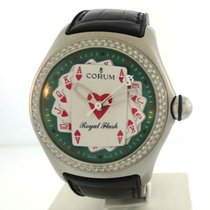 Corum Bubble- Royal Flush w/Diamonds
