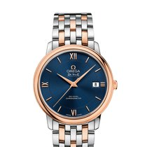 Omega De Ville Prestige Blue Dial Co-Axial 37