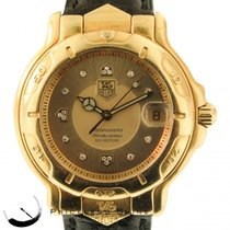 TAG Heuer Chronometer Solid 18k Yellow Gold  Automatic W/...