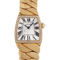 Cartier La Doña de Cartier Small Rose Gold & Diamond Watch...