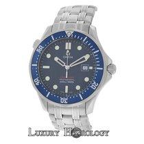 Omega Mint Men's Seamaster 300M Diver's Quartz Blue...