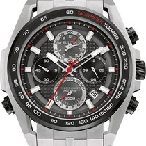 Bulova Precisionist Stainless Steel Chronograph 98b270