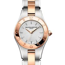 Baume & Mercier MOA10015 Linea Two Tone in Steel and Rose...