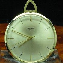 Dugena 14kt 585 Gold Open Face Taschenuhr / Anhängeuhr /...