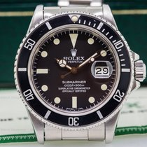 Rolex 16800 Submariner Black Matte Dial SS FULL SET (25709)