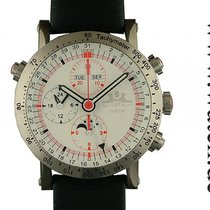 Temption Chronograph CGK204 Automatic White Vollkalender...