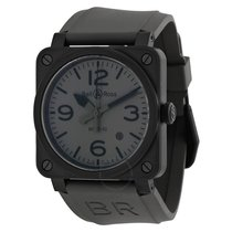 Bell & Ross Commando Automatic Grey Dial Men's Watch...