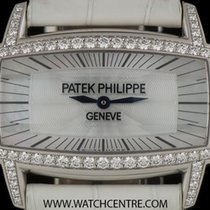 Patek Philippe 18k W/G MOP Dial Diamond Bezel Gondolo Gemma 4981G