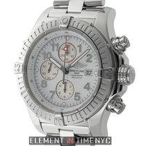 Breitling Super Avenger Chronograph Steel 48mm White Dial 2007...
