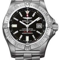 Breitling Mens Avenger Seawolf Stainless Steel Watch