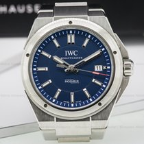 IWC IW323909 Ingenieur Laureus Blue Dial Limited SS (24439)
