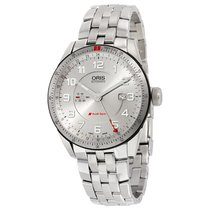 Oris Artix GT GMT Automatic Silver Dial Stainless Steel...