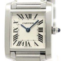 Cartier Tank Francaise Sm Steel Quartz Ladies Watch W51008q3...