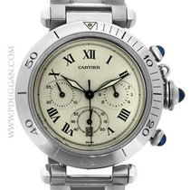 Cartier stainless steel Pasha Chronograph