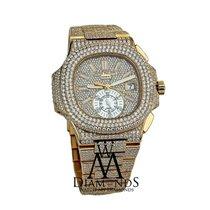 Patek Philippe Diamonds  Nautilus 18k Gold Chronograph...
