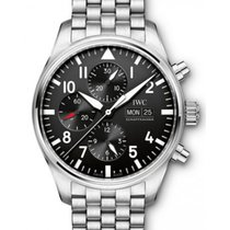 IWC Schaffhausen IW377710 Pilot's Watch Chronograph Black...