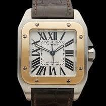 Cartier Santos 100 XL Stainless Steel/18k Yellow Gold Gents...