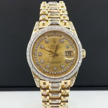 Rolex Day Date President 36mm Double Quick 18238 18k Yellow...
