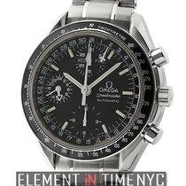 Omega Speedmaster Triple Calendar Chronograph Stainless Steel...