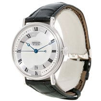 Breguet Classique 18k White Gold Automatic Mens Watch 5197bb/1...
