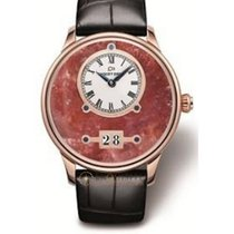 Jaquet-Droz Grande Date Red Moss Agate
