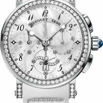 Breguet Marine Chronograph 18k White Gold 8828BB-5D-586-DD00