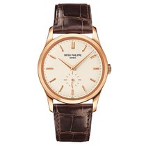 Patek Philippe Calatrava 5196R-001 Rose Gold Watch