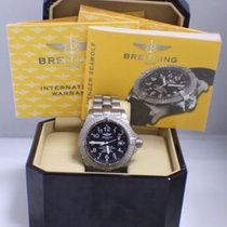 Breitling E17370  Titanium Avenger Seawolf Box & Papers